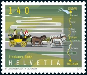 En vente dans les bureaux philatéliques dès le 4.9.2014/Dans les offices postaux dès le 28.8.2014 jusqu'au 30.9.2015/Validité illimitée dès le 4.9.2014