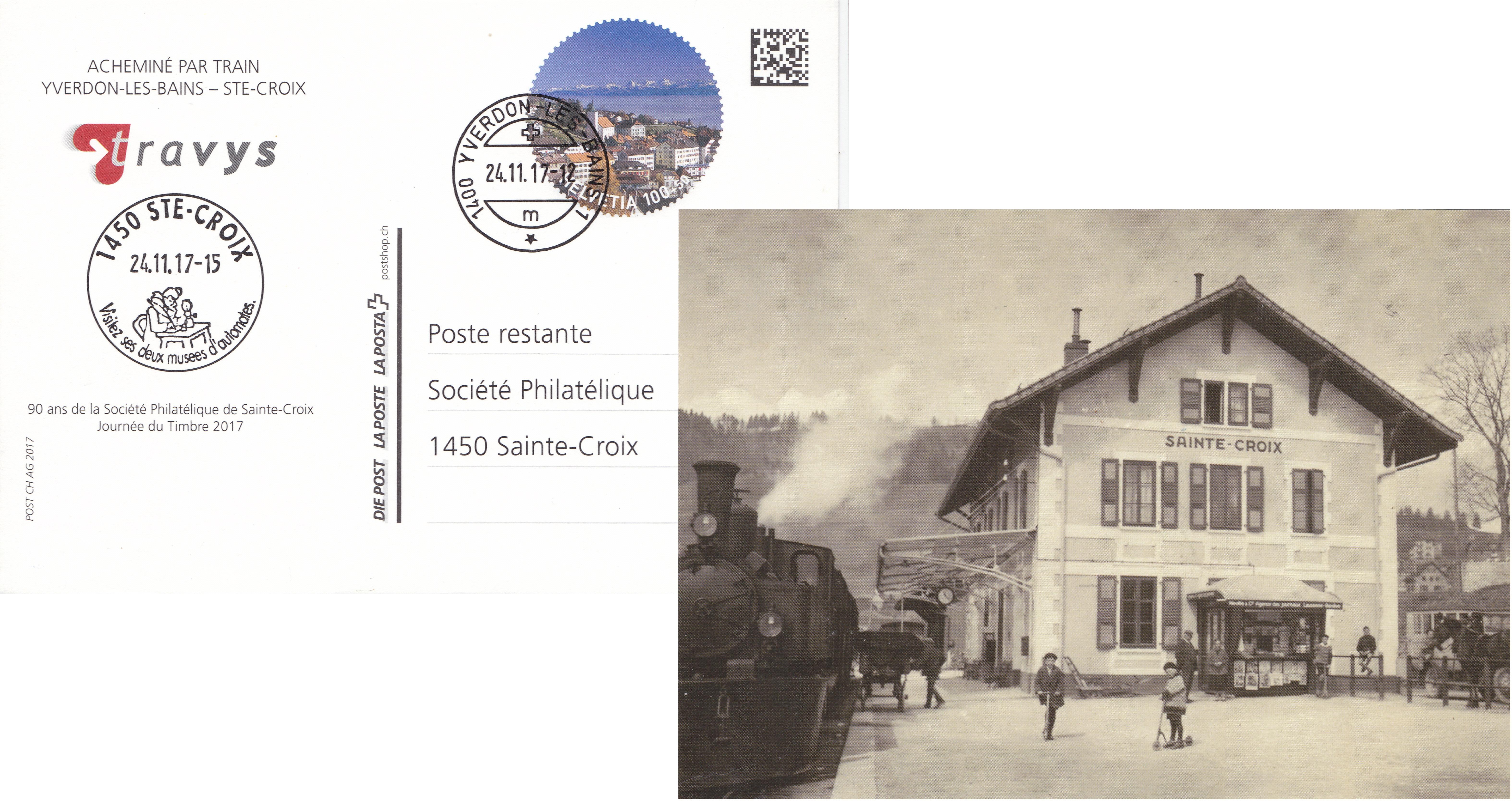 Carte souvenir